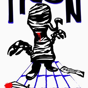 tron mummy tshirt by roger bros by tron2010