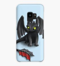 Toothless, Night Fury Inspired Dragon. Case/Skin for Samsung Galaxy