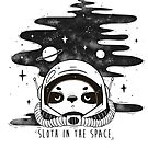 Sloth in the Space by lunaticpark
