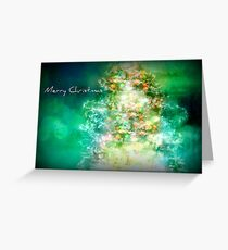 Merry Christmas Tree Greeting Card