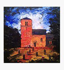 'Saxon Church, Kirk Hammerton' Photographic Print