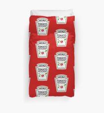 Iconic Heinz Tomato Ketchup Logo design Duvet Cover