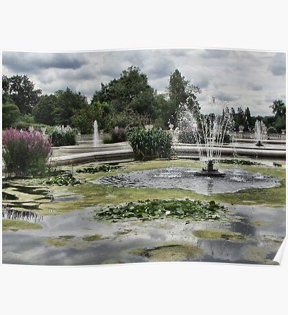 Italian Garden, Hyde Park. Poster
