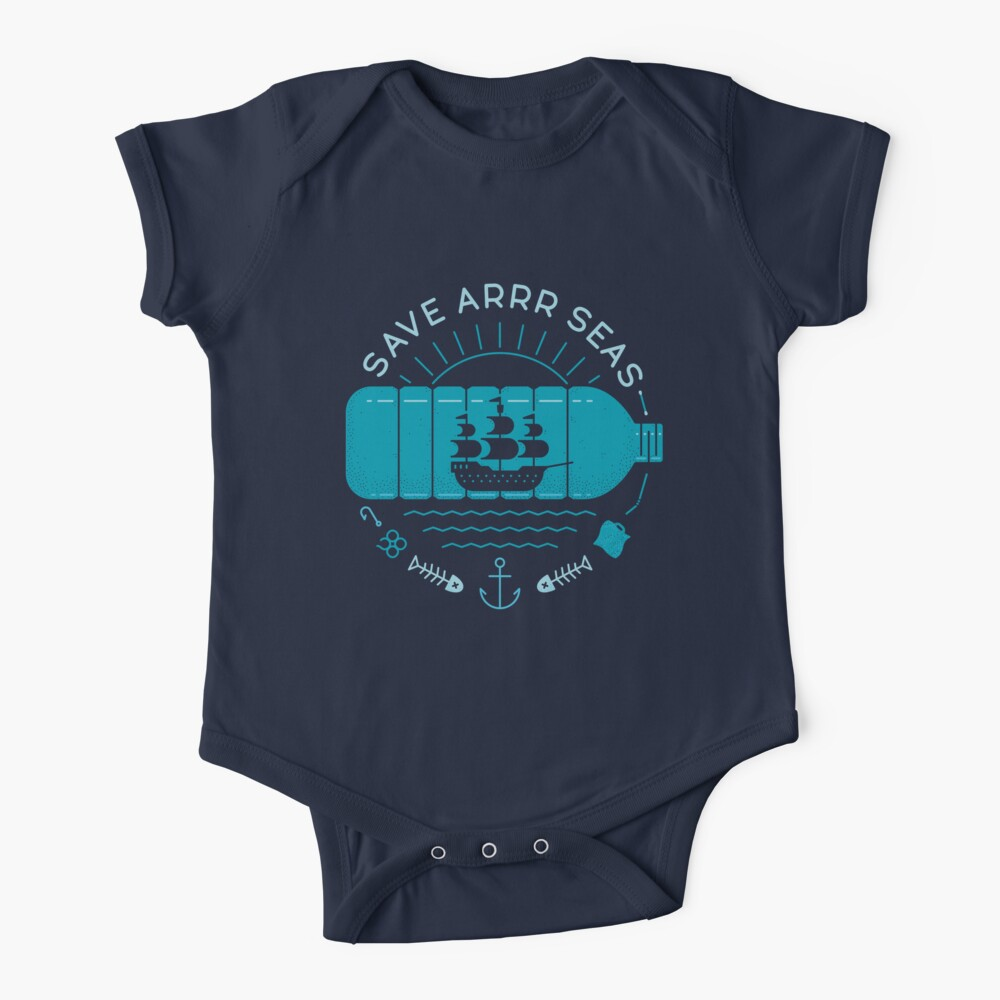 Save Arrr Seas Baby One-Piece