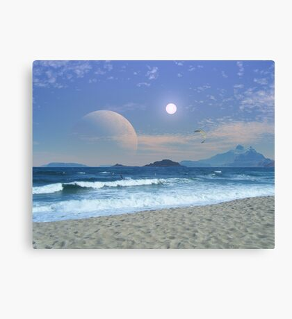 Surf Riders of Maranos Canvas Print