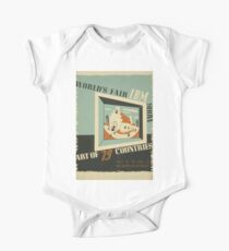 WPA United States Government Work Project Administration Poster 0742 World's Fair IBM Show Kids Clothes