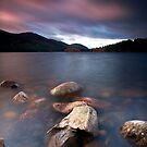 A Lochan Sunrise by Jeanie