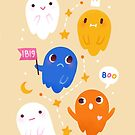 Ghosts Pattern by freeminds