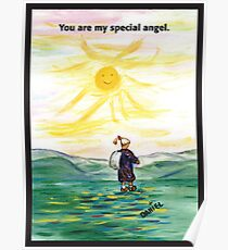 You are my special angel Poster