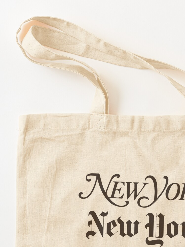 Alternate view of New York New York Tote Bag