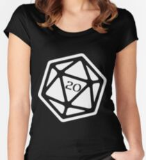 Critical Hit Women's Fitted Scoop T-Shirt