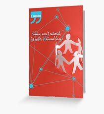 R-EL-ATIONAL Greeting Card