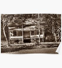 Eastatoe Valley Old Homeplace Poster