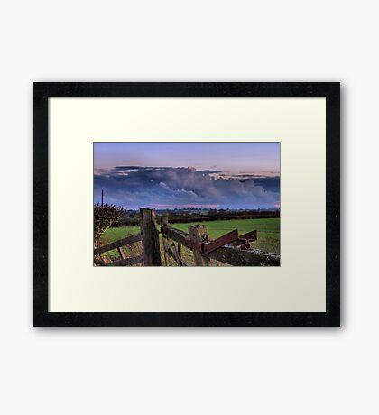Moor Lane Framed Print