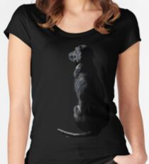 Ajax Watches the World Go By Fitted Scoop T-Shirt