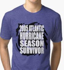 2005 Hurricane Season Survivor Tri-blend T-Shirt