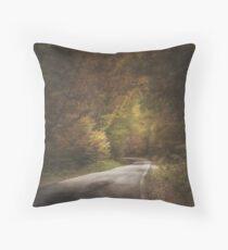 Hidden  paths Throw Pillow