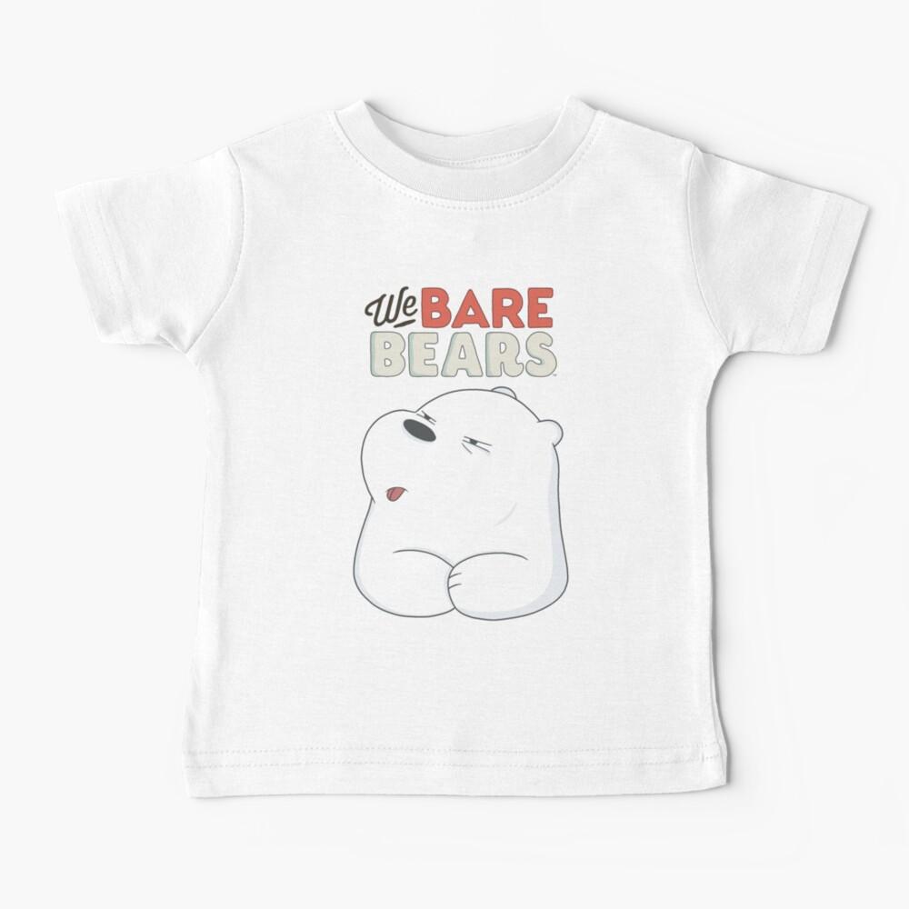 We Bare Bears - Ice Bear  Baby T-Shirt