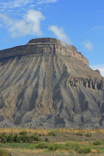 Mt. Garfield stands tall by sgarrityphotogr