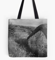 Old Thatch and Summer Grasslands - Killbegs, County Donegal. Tote Bag