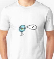 blue birdy Unisex T-Shirt