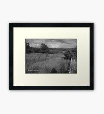 Summer Evening Shadow - County Donegal Landscape. Framed Print