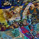 Mosaic Staircase by Josie Duff