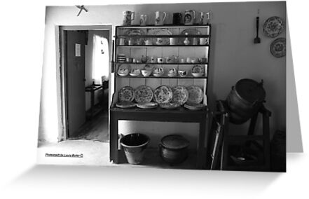 Quiet Rooms - Cottage Interior County Donegal. by Laura Butler