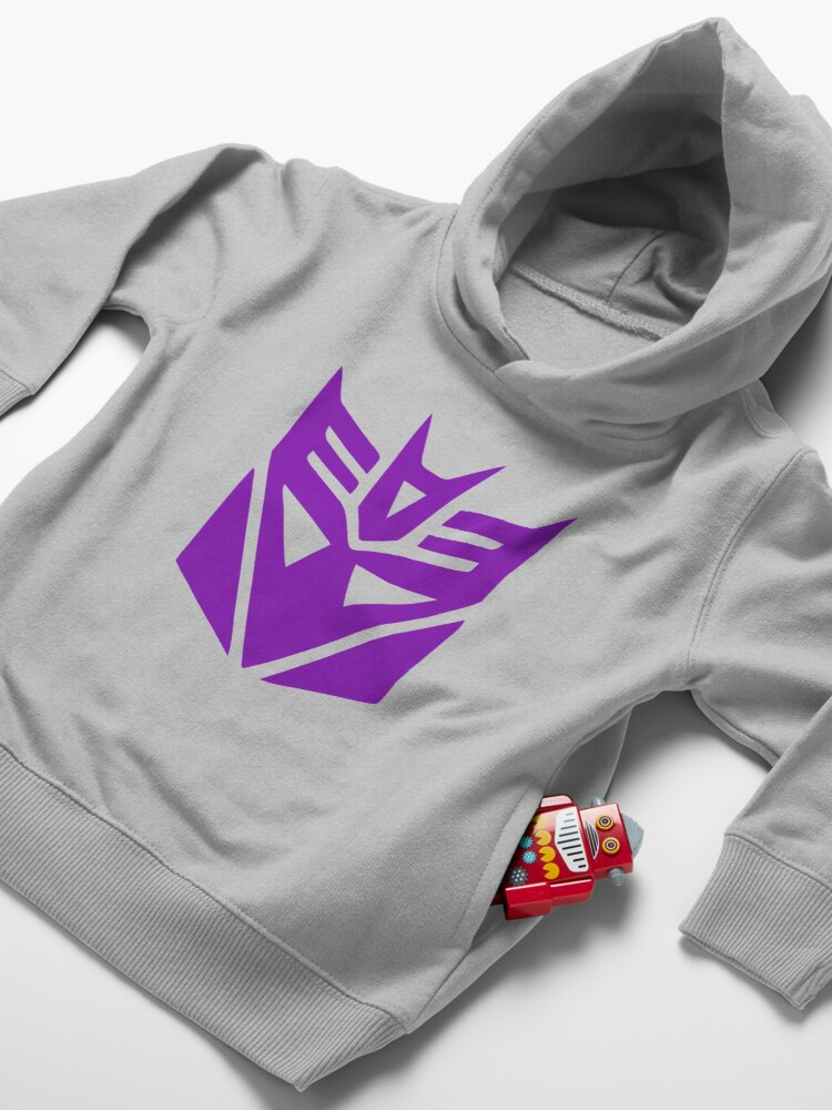 Alternate view of Decepticon Toddler Pullover Hoodie