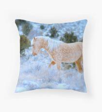 Liberty Stallion Of The Great Basin  Throw Pillow
