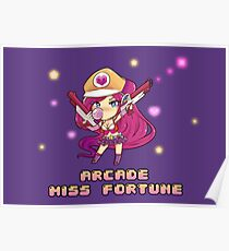 Arcade Miss Fortune Poster
