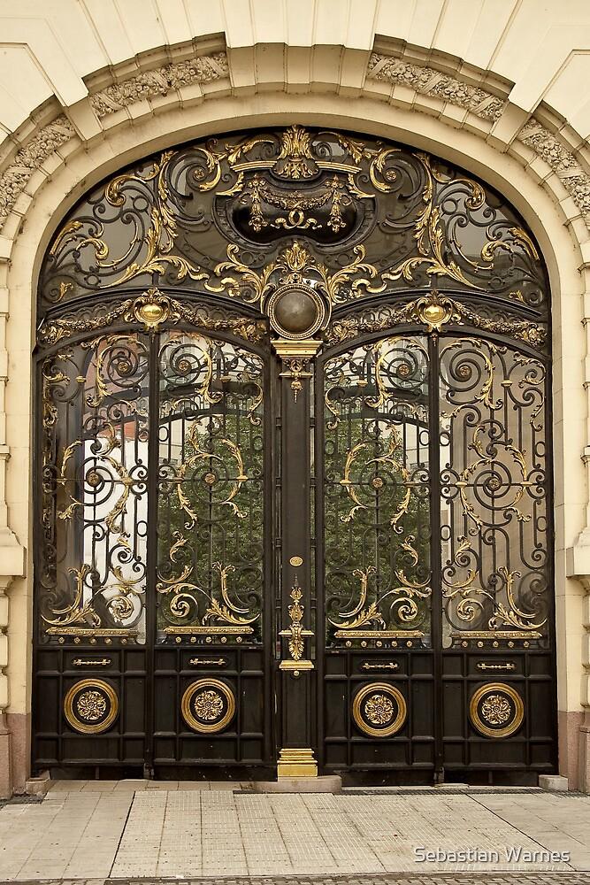 open the door by Sebastian Warnes
