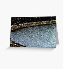 The rockiest Cove around Greeting Card