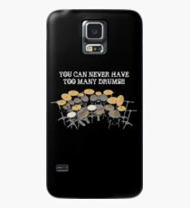 Too Many Drums! Case/Skin for Samsung Galaxy