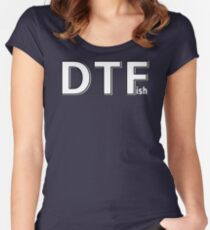 DTFish Women's Fitted Scoop T-Shirt