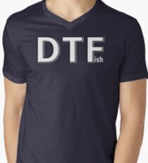 DTFish Men's V-Neck T-Shirt