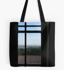 Through the Lighthouse Window Tote Bag