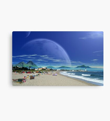 Saltus Bay Point Canvas Print