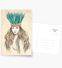 K of Spades Postcards