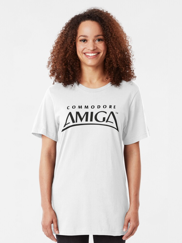 Alternate view of NDVH Commodore Amiga Slim Fit T-Shirt