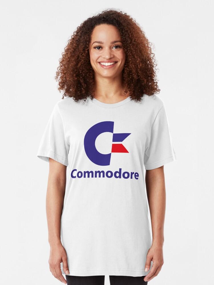 Alternate view of NDVH Commodore Slim Fit T-Shirt