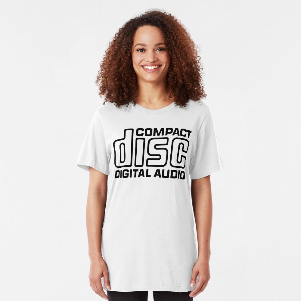 NDVH Compact Disc Slim Fit T-Shirt