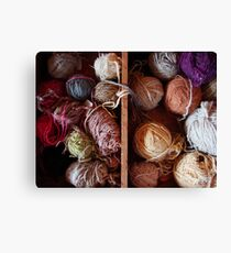 Knit Song III Canvas Print