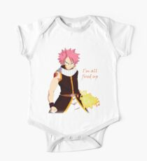 Natsu Fired Up Short Sleeve Baby One-Piece