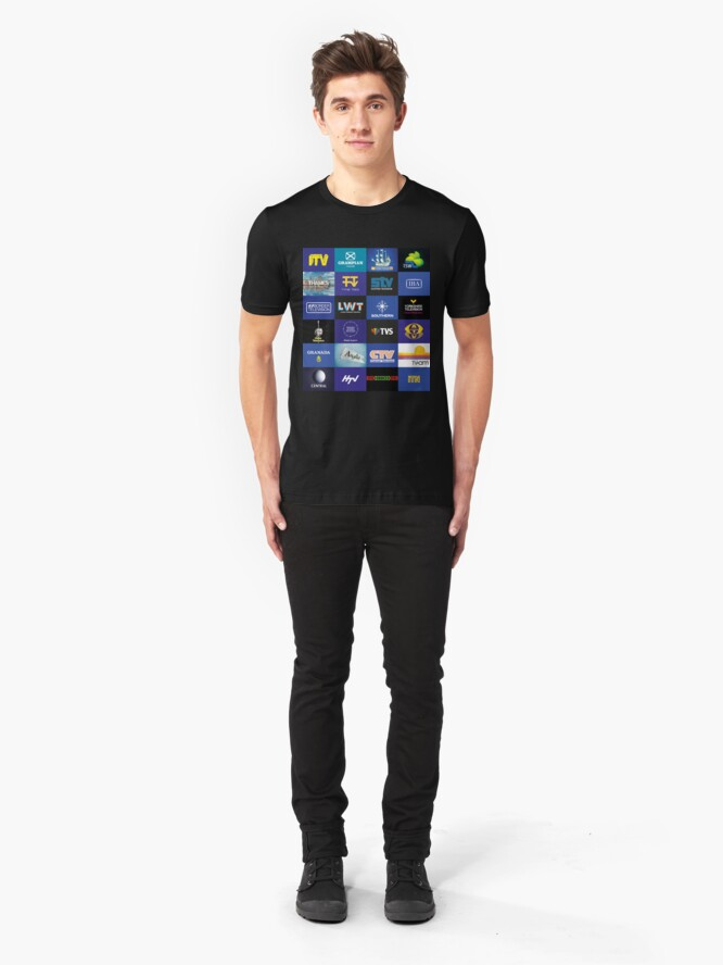 Alternate view of NDVH ITV Slim Fit T-Shirt