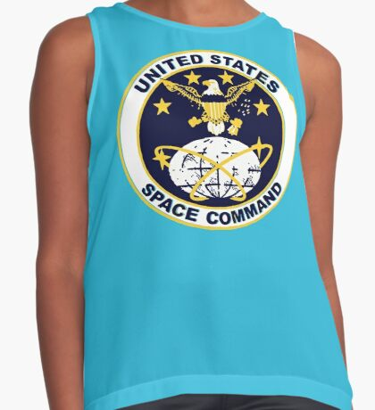 United States Space Command Sleeveless Top