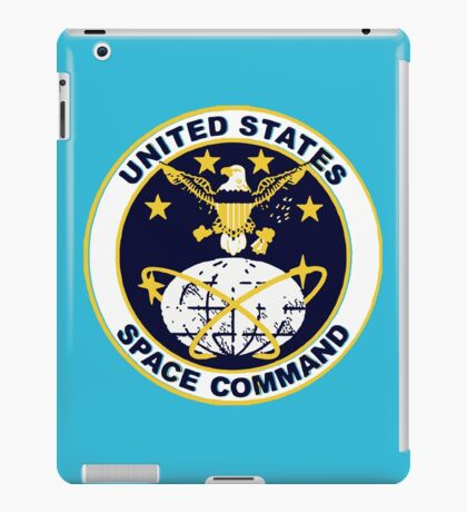 United States Space Command iPad Case/Skin