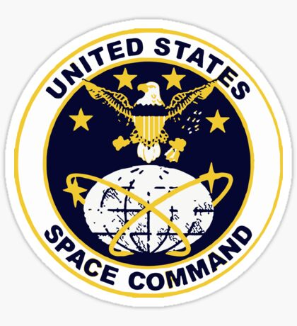 United States Space Command Sticker