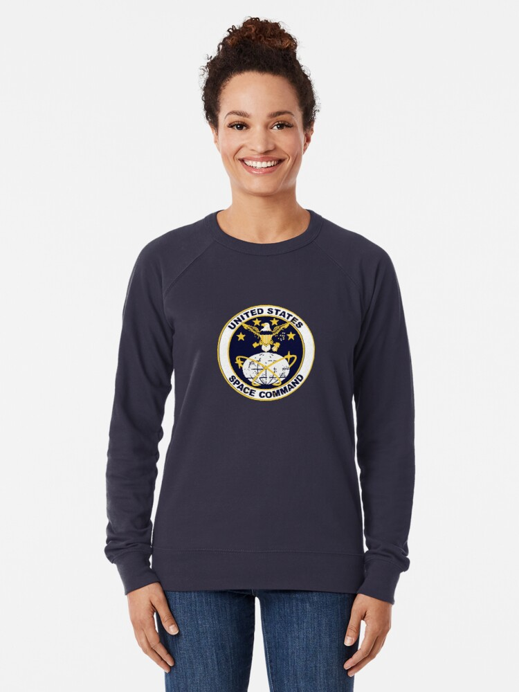 Alternate view of United States Space Command Lightweight Sweatshirt