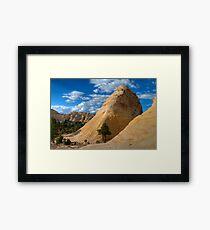Sandstone Dome Framed Print